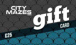 city maze gift card